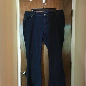 Lane Bryant Slim Bootcut Genius Fit Jeans